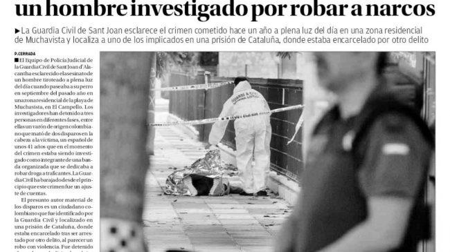 Tres Detenidos Por El Asesinato a Tiros de Un Hombre Investigado Por Robar a Narcos