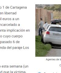 Libre uno de los dos sospechosos de matar al lituano mutilado de Cartagena